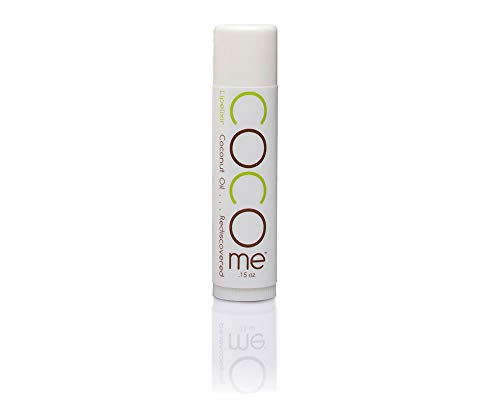 CocoMe Organic Virgin Coconut Oil and Beeswax  Lip Balm - Dermatologist Recommended Moisturizing and Protecting Lip Repair - 3 Pack of Organic Lip Balm