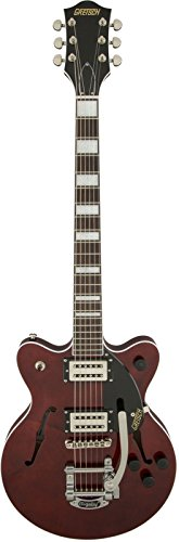 - Gretsch Guitars G2655T Streamliner Center Block Junior Double Cutaway with Bigsby Walnut Satin