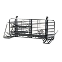 Safco Products 4100CH GridWorks Compact System, Charcoal
