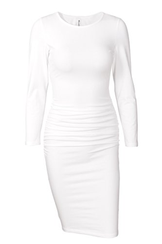 Ruched Dress - 8
