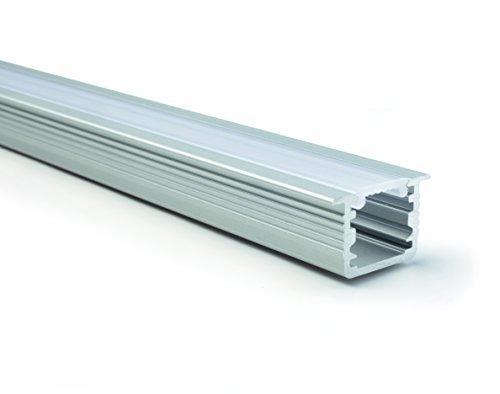 GedoTec® Modernes Design LED Profil Boden-Schiene Modell DIVA | 2000 mm | Bodenprofil für LED-Streifen | Markenqualität für Ihren Wohnbereich (DIVA)
