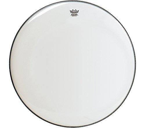 """Remo Bass, AMBASSADOR®, SMOOTH WHITE(TM), 24"""" Diameter"""