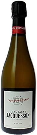Champagne Jacquesson, Cuvee 737, DT, Brut (caja de 6). Champagne/Francia. 54% Chardonnay, Pinot Noir, Pinot Meunier. Vino espumoso