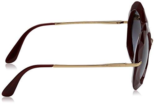Transpernte Dolce Rouge Red DG6105 Sonnenbrille Greygradient amp; Gabbana wXqw4p