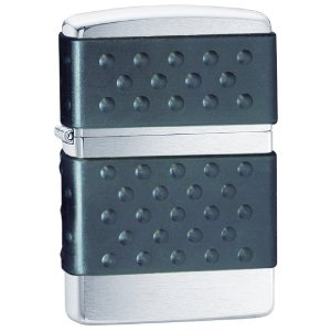 Zippo 2 Pack of Brushed Chrome, Zip Guard