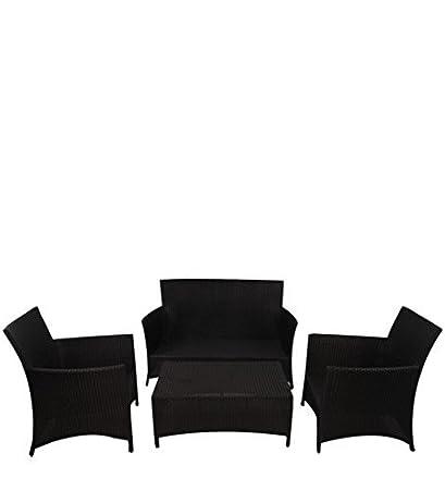 Mavi Exclusive Black Garden Set