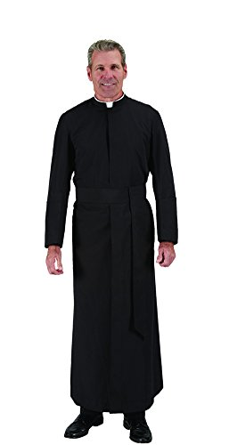 Autom Summertime Semi-Jesuit Cassock Black, Size - C: 50 N: 19 B: 62 by Autom