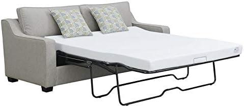 Wondrous Amazon Com Emerald Home Berkley Dove Gray Queen Sleeper Dailytribune Chair Design For Home Dailytribuneorg
