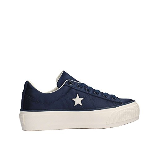 Converse Star Sneakers One Star Platform Ox Blu 560988C Blu