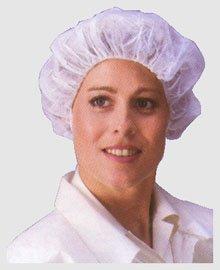 Polypropylene Bouffant Cap 28 inch White cap (1000 per case)
