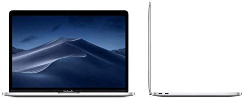 Apple MacBook Pro with touch screen 13-inch Retina, 2.3GHz Quad-Core Intel Core i5, 8GB RAM, 256GB SSD - Silver (Previous Model) (Renewed)