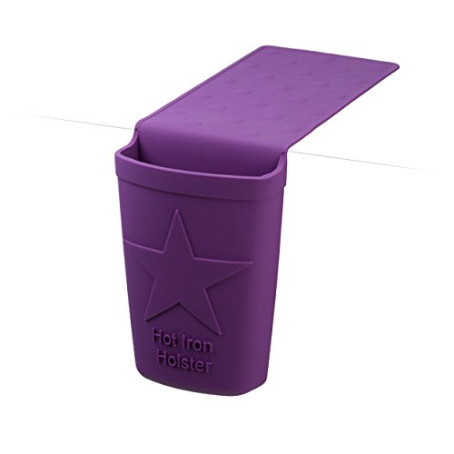 Center Pedestal Sink (Holster Brands Hot Iron Holster PROFESSIONAL - Purple - Perfect for Hair Dryers)