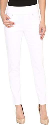 FDJ French Dressing Jeans Women's Pull-On Slim Ankle in White White Jeans