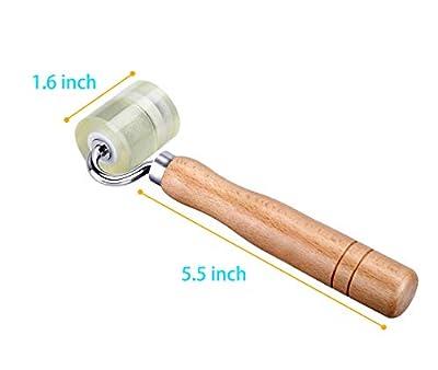 Wadason Seam Roller Sound Deadening Roller for Wallpaper Quilting Vinyl Flooring Wallcoverings Car Sound Deadener Roller Smoother Tool