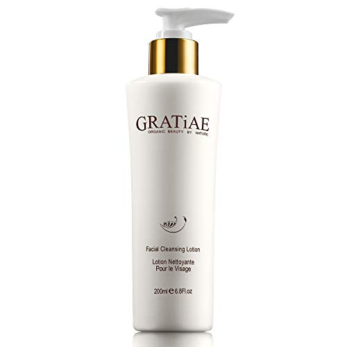 Gratiae Organics Facial Cleansing Lotion, 6.8 Ounce