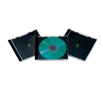 OfficeMax 25-Pack Standard CD Jewel Cases 0M96045 from OfficeMax