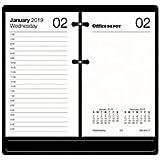 Office Depot Brand Daily Desk Calendar Refill, 3 1/2in x 6in, White, January to December 2019