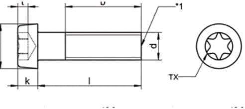 ISO 14580 A2 M 4X16 TX20 Zylinderkopf TORX DIN 14580 100 Stk A2