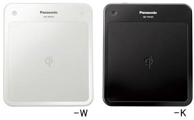 Panasonic Wireless Charger Charge Pad Qe-tm101-w White 100-240v by Panasonic