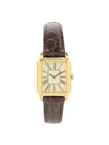 (데미 럭스 빔스) Demi-Luxe BEAMS 스퀘어 카프(calf)  스퀘어 커프 형식 손목시계 ONE SIZE 브라운