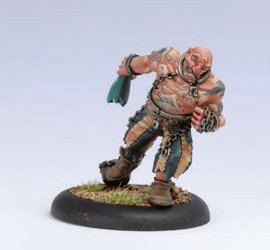 Privateer Press - Warmachine - Mercenary: Bloody Bradigan Model Kit
