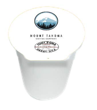 The Best Fresh Roast to Order Certified 100% Kona Coffee - 12 pack of K-Cup compatible pods 100% recyclable