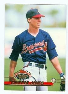 Amazoncom Chipper Jones Baseball Card Atlanta Braves