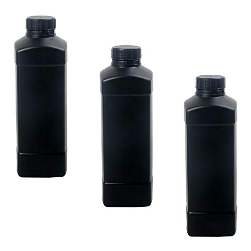 3X 1000ml Darkroom Chemical Storage Bottles Film Photo Developing Processing 1L from eTone