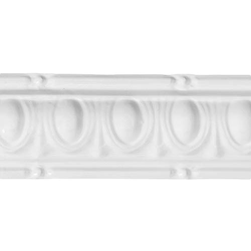 """Great Lakes Tin Huron Gloss White Crown Molding (6"""", used for sale  Delivered anywhere in USA"""