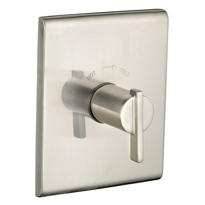 American Standard T184730.295 Times Square Central Thermostat Trim Kit, Brushed Nickel