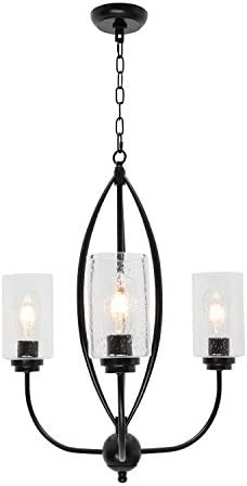TODOLUZ 3-Lights Pendant Lighting Kitchen Island Light Fixture