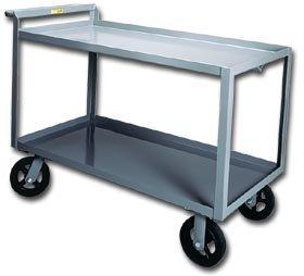Little Giant Products - Div. O 2400 Pound Cap Shelf Truck - 2 Shelves Lip Up (Trucks Picking Stock)