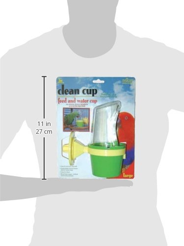 JW-Pet-Company-Clean-Cup-Feeder-and-Water-Cup-Bird-Accessory-Large