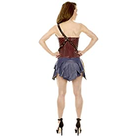 - 31S8Z2fiOiL - DC Comics Wonder Woman Corset & Skirt Cosplay Costume