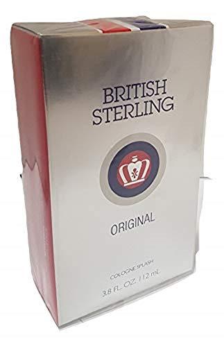 Cologne Splash British Sterling (British Sterling By Dana For Men. Cologne Splash, 3.8-Ounces)