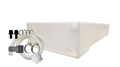 Class A Customs UM 30 Gallon Water Holding Tank & Plumbing Kit UM-3000-BPK ()