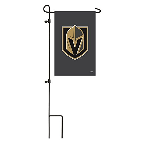 Ashley Gifts Customizable Embroidered Garden Size NHL Flag, Applique Vegas Golden Knights