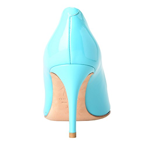 Giuseppe Zanotti Design Donna Aqua Blue Pumps Tacchi Alti Scarpe Us It 36 36