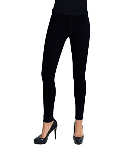 MeMoi Full Length Women's Ponte Real Pockets Small & Plus Size Leggings