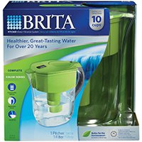 CloroxSales-BritaProducts Brita Grand Green Pitcher, Sold as 1 (Grand Pitcher)