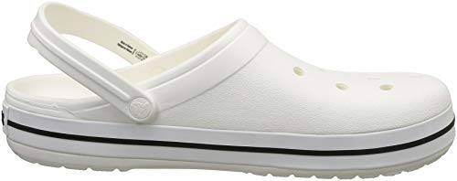 Crocband 11016 White crocs Erwachsene 100 Clogs Unisex XrnXqAzE