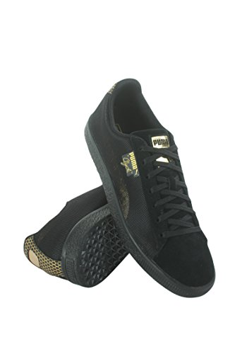 Puma Mens Clyde Holidaze Metal Black