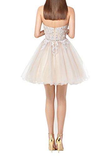Abendkleider Cocktailkleider Himmel Braut Tanzenkleider Elfenbein Mini Rock Spitze Prinzess Marie Blau Summer La qIHXRwy