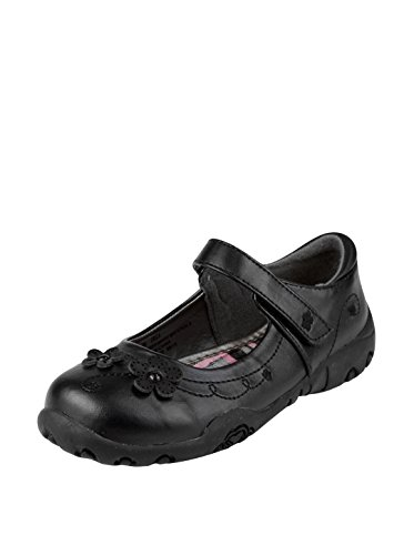 (French Toast Girls Erica Uniform Dress Shoe Black 11)