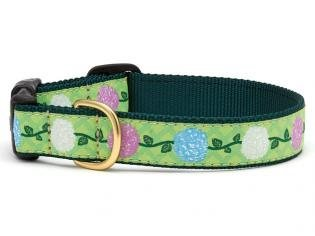 - Up Country Multicolored Hydrangea Dog Collar by (Medium)
