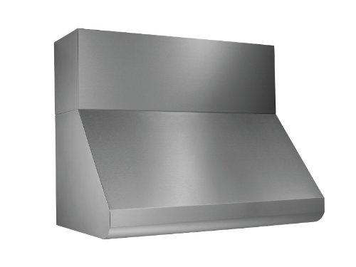 (Broan E6036SS Wall-Mount Internal Blower Range Hood, 36-Inch 600 CFM, Stainless Steel)