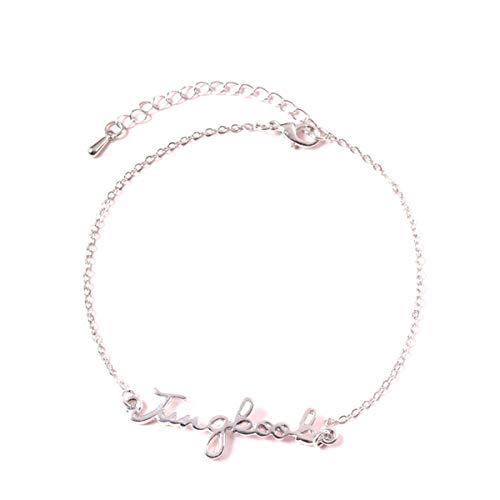 SIMYJOY ENJOY THE SIMPLICITY SIMJOY Kpop BTS Steel Titanium Bracelet Signature Pattern Bracelet Gift for Fans Army Jungkook