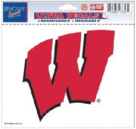 Wisconsin Badgers Removable 5