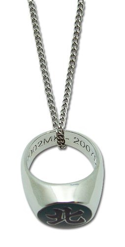 uzu Akatsuki Ring Necklace (Naruto Shippuden Necklace)