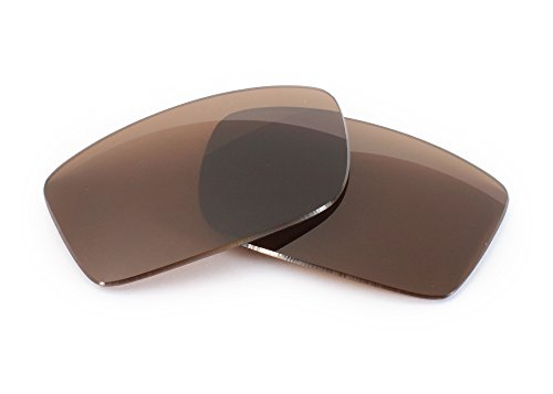 FUSE+ Lenses for Ray-Ban RB3445 (61mm) Brown Polarized Replacement Lenses